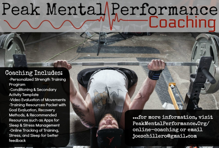Peak Mental Performance Coaching